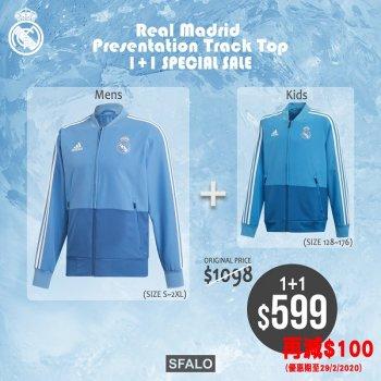 Adidas Real Madrid Top 1+1 Special Sale 皇馬親子1+1外套優惠