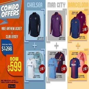 Nike Anthem Jacket x Club Jersey  外套 x 球衣優惠