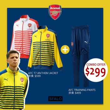 Puma Arsenal 14/15 T7 Anthem Jacket +  Training pants