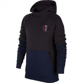 Nike Paris Saint-Germain Older Kids' Fleece Pullover Hoodie AT4499-080