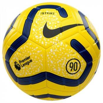 Nike Premier League Strike Soccer Ball - Yellow/Blue SC3552-710