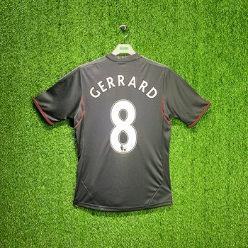 ADIDAS LIVERPOOL 11/12 (AWAY) S/S JSY V13870 with NAMESET (#8 GERRARD)