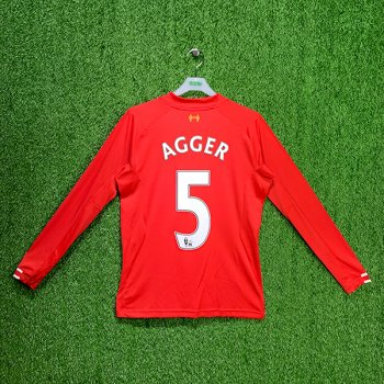 LIVERPOOL 13/14 (HOME)  JSY WSTM301 with NAMESET (#5 AGGER)