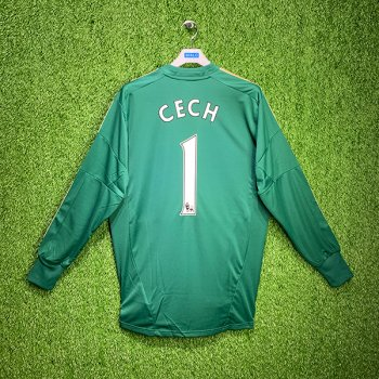 Adidas Chelsea 12/13 L/S Goalkeeper W38488 With Nameset (#1 CECH)