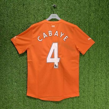 NEWCASTLE 11/12 (AWAY) S/S JSY 739581-03 w/ NAMESET (#4 CABAYE)