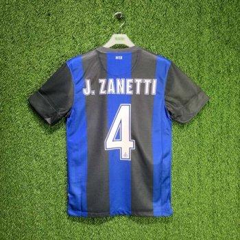 INTER MILAN 12/13 (HOME) S/S JSY 479315-010 w/ NAMESET (#4 J.ZANETTI)