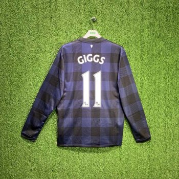 Nike Manchester United 13/14 (AWAY) L/S JSY 532838-411 w/ Nameset (#11 GIGGS)