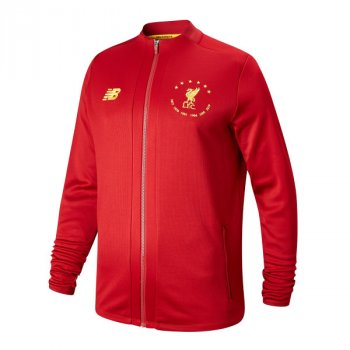 NB LIVERPOOL FC 19/20 6 TIMES (RED) L/S Jacket MJ930505