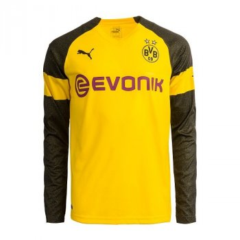 PUMA BVB 18/19 (H) L/S Jersey with printing