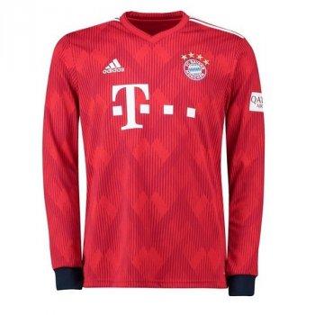 ADIDAS Bayern Munich 18/19 (H) L/S Jersey with printing