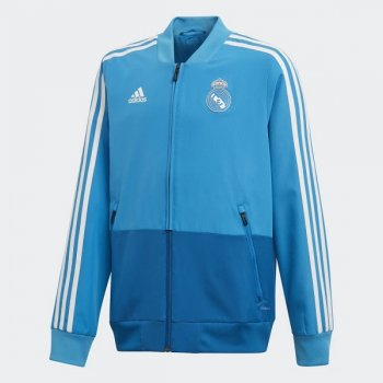 ADIDAS REAL MADRID 18/19 PRESENTATION YOUTH JACKET DZ9318