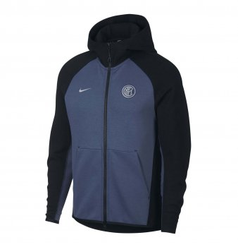 NIKE INTER MILAN 18/19 NSW TECH FLEECE HOODIE JKT AH5201 -014