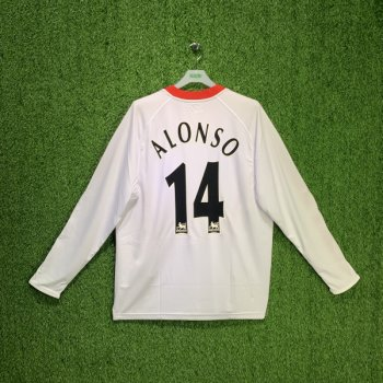 LIVERPOOL 2005 (AWAY) L/S JSY ACMF5009-100 w/ NAMESET (#14 ALONSO)