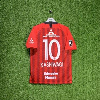 NIKE URAWA RED DIAMONDS 2019 (HOME) S/S JSY AQ4445-611 w/ Nameset ( #10 KASHIWAGI)