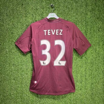 MAN CITY 12/13 (AWAY) S/S JSY 74230U  w/ NAMESET (#32 TEVEZ)