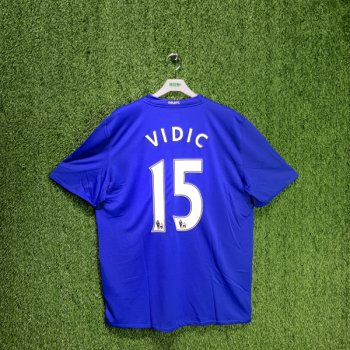 NIKE MUFC 08/09 (3RD) S/S  JSY 287615-403 w/ NAMESET (#15 VIDIC)