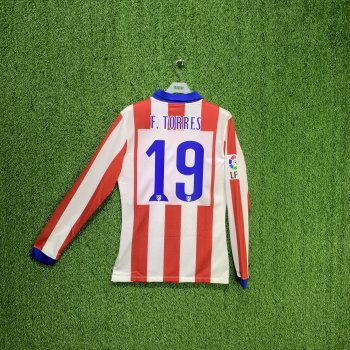 NIKE ATM 14/15 (H) L/S PLAYER 613267-648 with #19 F. TORRES