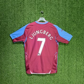 UMBRO WEST HAM 07/08 (HOME) S/S JSY 1801149 w/ NAMESET (#7 LJUNGBERG )