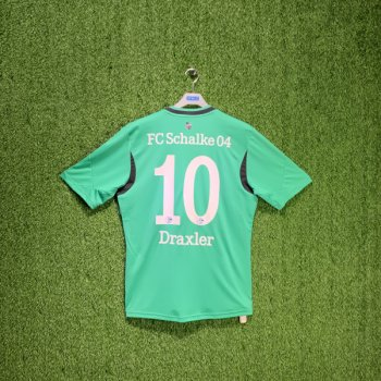 ADIDAS SCHALKE 04 FC 13/14 (3RD) S/S JSY Z26051 w/ NAMESET (#10 DRAXLER)
