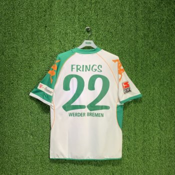 KAPPA WERDEN 2007 (AWAY) S/S JSY 017276 w/ NAMESET (#22 FRINGS)