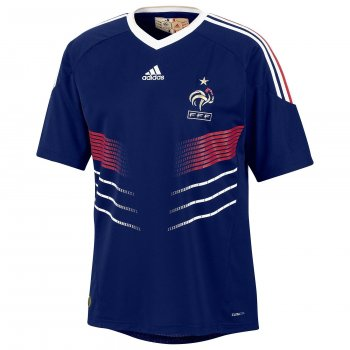 ADIDAS National Team 2010 France (H)  S/S Jersey P41040