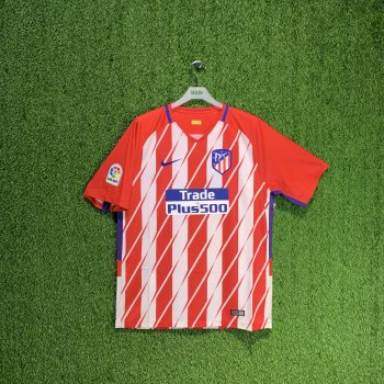 NIKE ATLETICO MADRID 17/18 (HOME) S/S JSY 847291-612 w/ NAMESET