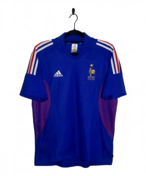 ADIDAS National Team 2002 France (HOME) Authentic S/S Jersey 298741