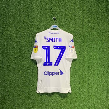 KAPPA LEEDS UNITED 18/19 (HOME) S/S Jersey 304J930-900 w/ NAMESET (#17 SMITH)