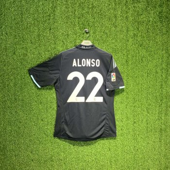 ADIDAS REAL MADRID 09/10 (AWAY) S/S E84339 w/ NAMESET (#22 ALONSO)