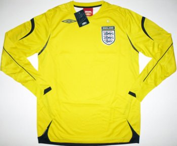 UMBRO National Team 2008 ENGLAND (GK) L/S 17011319