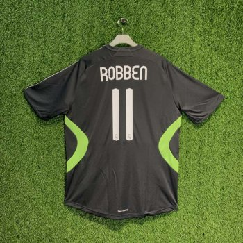 ADIDAS REAL MADRID 07/08 (3RD) S/S JSY 697225 w/ NAMESET (#11 ROBBEN)