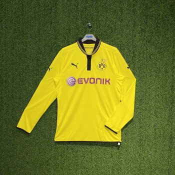 BVB 12/13 (HOME) PLAYER L/S JSY  741475-01  w/ NAMESET (#9 / #11)