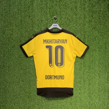 PUMA BVB 15/16 (HOME) Replica Shirt 747991-01 w/ NAMESET (#10 MKHITARYAN)