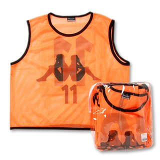 KAPPA FOOTBALL TEAM BIBS SET (#2-11) KFDG7042- FOR