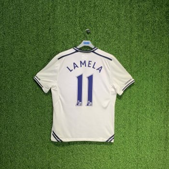 UNDER ARMOUR TOTTENHAM HOTSPUR 13/14 (HOME) S/S JSY 1238384-100 w/ NAMESET (#11 LAMELA)