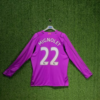 WARRIOR LIVERPOOL 14/15 (HOME) L/S GK JSY WSTM402 w/ NAMESET (#22 MIGNOLET)