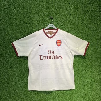 NIKE ARSENAL 07/08 (AWAY) S/S JSY 237867-105 w/ NAMESET (#7 ROSICKY / #13 HLEB)