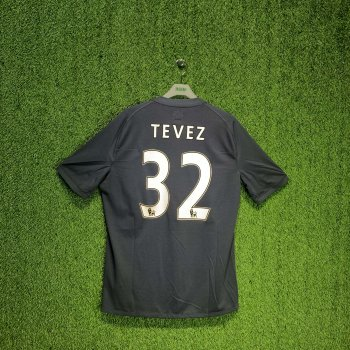 UMBRO MANCHESTER CITY 10/11 (AWAY) S/S JSY 70479U w/ NAMESET (#32 TEVEZ)