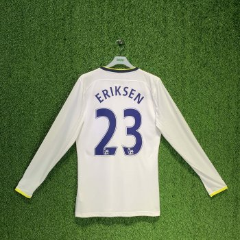 UNDER ARMOUR TOTTENHAM HOTSPURS 14/15 (HOME) L/S JSY 1245252-100 w/ NAMESET (#23 ERIKSEN)