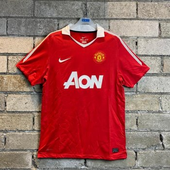 NIKE MANCHESTER UNITED 10/11 (H) S/S PLAYER JERSEY 406811-623