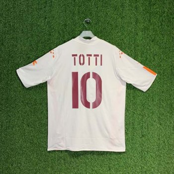 ROMA 04/05 (AWAY) S/S JSY w/ NAMESET (#10 TOTTI)