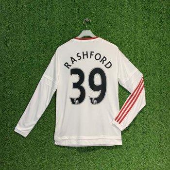 ADIDAS MUFC 15/16 (AWAY) L/S JSY AI6362 w/ NAMESET (#39 RASHFORD)