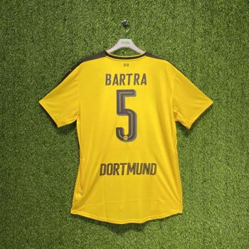 PUMA BVB 16/17 (HOME) Replica Shirt 749821-01 w/ NAMESET (#5 BARTRA)