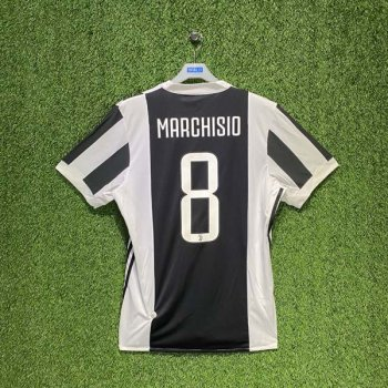 ADIDAS JUVENTUS 17/18 (HOME) S/S JSY BQ4533 w/ NAMESET (#8 MARCHISIO)
