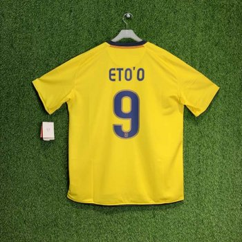 FC BARCELONA 08/09 (AWAY) S/S JSY 286787-760 w/ NAMESET (#9 ETO'O)