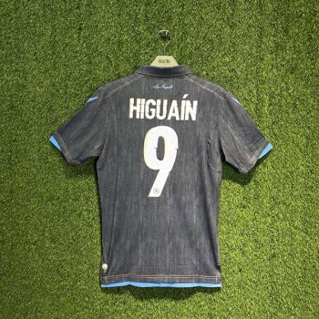 NAPOLI 14/15 (AWAY) PLAYER JSY 580638-06 w/ NAMESET (#9 HIGUAIN)