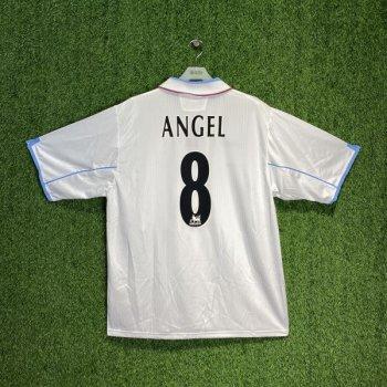 DIADORA ASTON VILLA 02/03 (A) S/S with Nameset #8 ANGEL