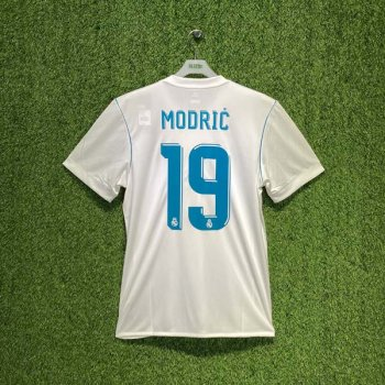ADIDAS REAL MADRID 17/18 (HOME) S/S JSY AZ8059 w/ NAMESET (#19 MODRIC)