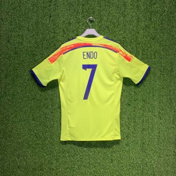 ADIDAS JAPAN 14 (AWAY) S/S JSY G74549 w/ NAMESET (#7 ENDO)