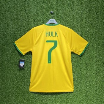Nike National team 2014 World Cup Brazil (H) with #7 HULK nameset
